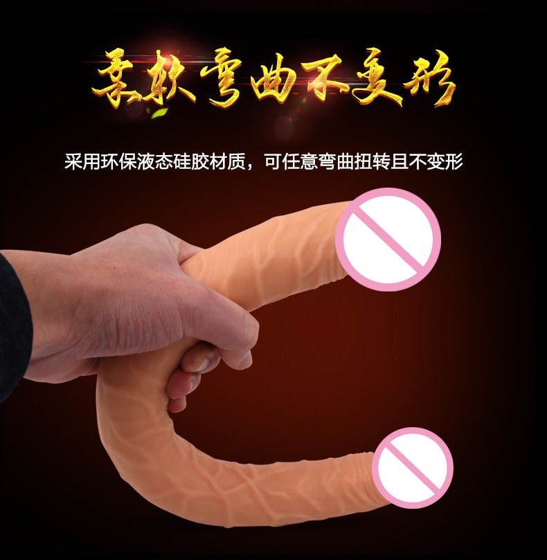 long big double ended dildo woman lesbian dual dong penetration dildos artificial realistic fake penis for women gay sex toys 7