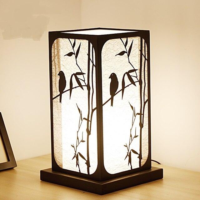 Le nouveau style chinois lampes de Table chambre lampe de chevet ...