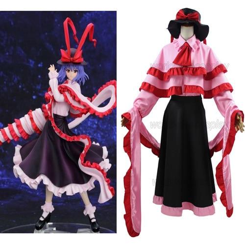 Free Shipping Touhou Project Nagae Iku Cosplay Costume Custom Made for Halloween and Christmas anime touhou project flandre scarlet cosplay costume custom any size halloween
