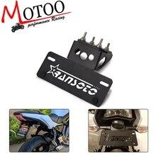 Мотоцикл Eliminator номерной знак рамка Кронштейн держатель лицензии для Kawasaki Z650 Ninja 650