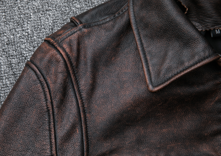 HTB1zRUdE1OSBuNjy0Fdq6zDnVXac MAPLESTEED Brand Amekaji Motor Biker Style Men Leather Jacket Black Red Brown Cowhide Vintage Jackets Men Winter Coat 5XL M100