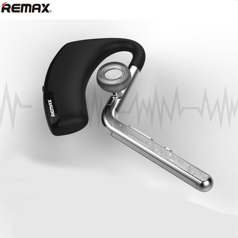Remax RB-T5 Bluetooth 4.1 Headset Wireless Stereo Ear Hook Earphone Headphone for Apple Samsung Huawei Camera Noise Cancelling remax rb t2 fashion aluminum bluetooth earphone wireless hd clear sound headset for iphone 5 6 samsung galaxy s4 android phone