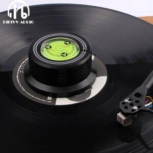 Image 1 - אלומיניום שיא משקל מהדק LP ויניל פטיפונים מתכת דיסק מייצב עבור רשומות נגן אביזרי LP דיסק משקל מייצב