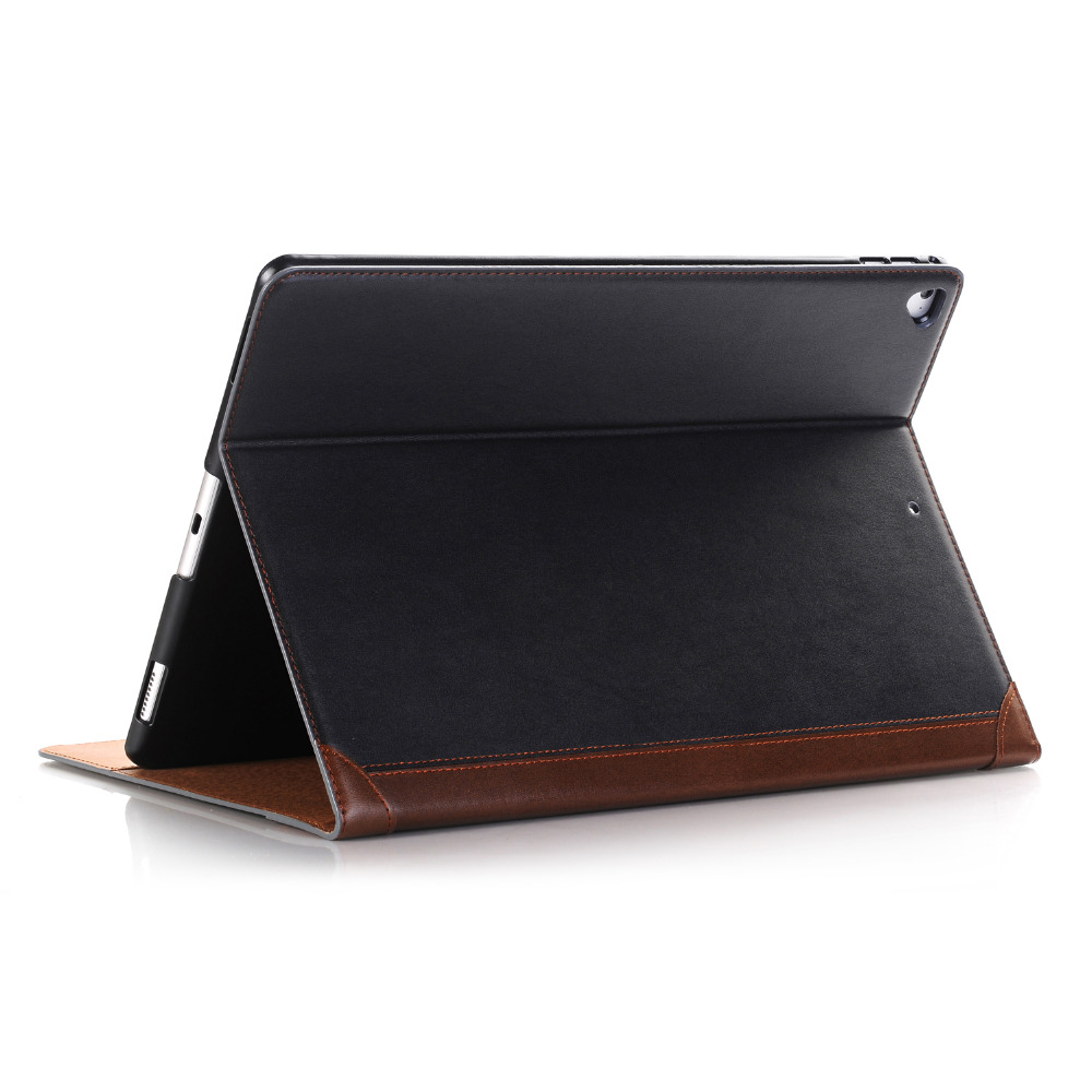 New Smooth Book Cover Card Holder Folio Stand PU Leather Magnetic Smart Sleep Case For Apple iPad Pro 12.9 inch 2017 Tablet for coque ipad pro 9 7 case new fashion magnetic closure pu leather stand case book style flip folio cover for ipad pro 9 7 air3