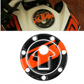 Motorcycle Oil Gas Fuel Tank Cap Protector Pad Cover Sticker Decal For KTM DUKE200 (12-14) / DUKE 390 (13-14) RC / CFMOTO 150NK