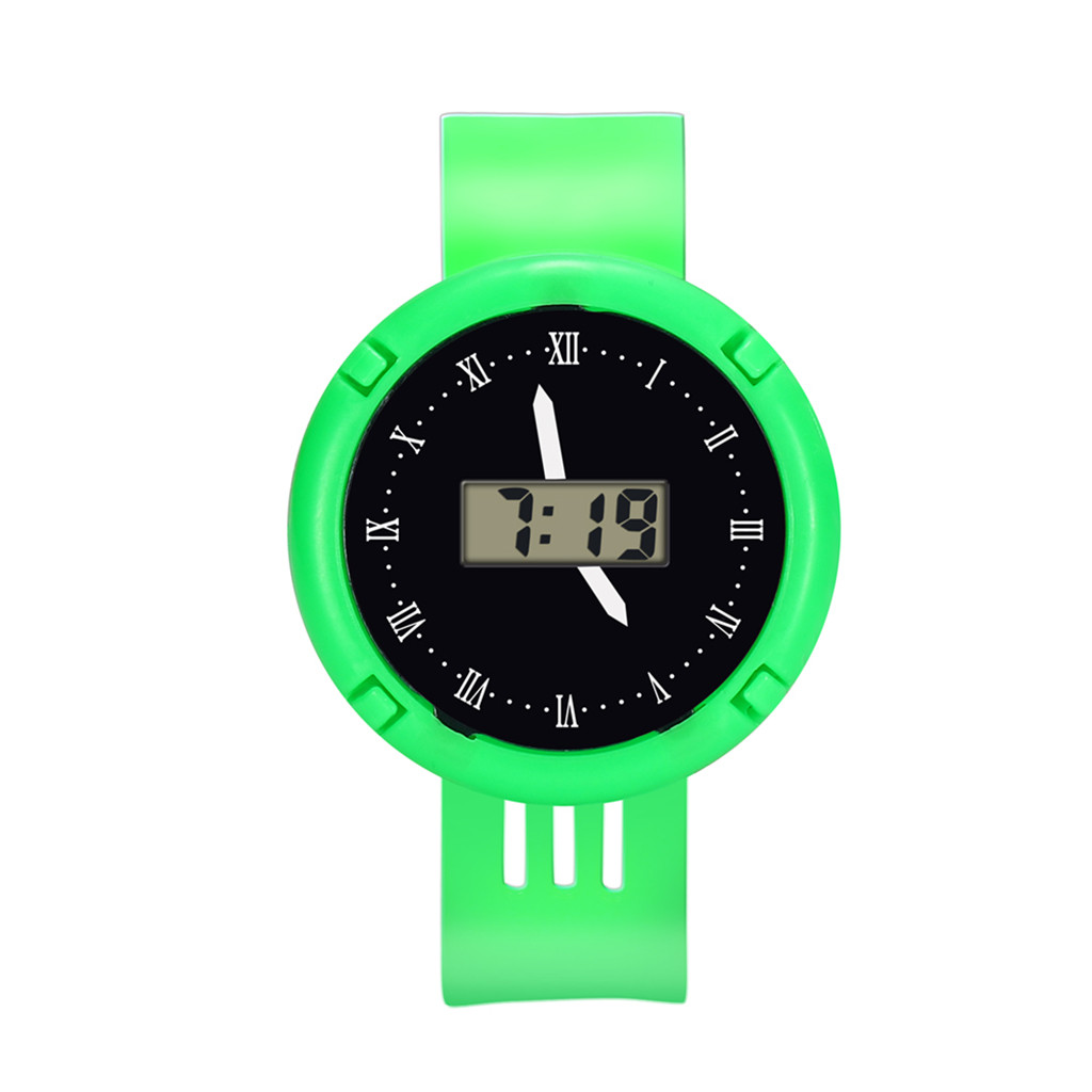 Childrens Watch Girls Analog Digital Sport LED Electronic 30M Waterproof Wrist Watch New Simple  C0603