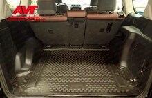 Mats bagagliaio di un'auto per Toyota Land Cruiser Prado 150 2017-1 pz gomma tappeti in gomma antiscivolo interni car styling accessori