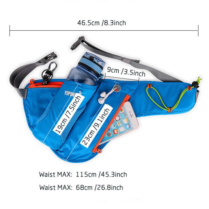 Нейлоновая сумка-пояс для мужчин и женщин, модная поясная барсетка для путешествий, бега, поясная сумка на молнии, водонепроницаемая сумка