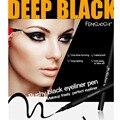 Preto profundo 3D Delineador Líquido Caneta Lápis de Olho Lápis-secagem Rápida À Prova D' Água Suor não está Florescendo maquiagem dos Olhos Cosméticos para As Mulheres