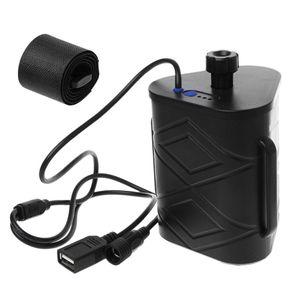 Image 5 - Wasserdichte Fahrrad Licht Batterie Fall 2x26650/8,4 V 3x18650/26650/12 V Batterie lagerung Box Mobile Power Bank Lagerung Box mit Kabel
