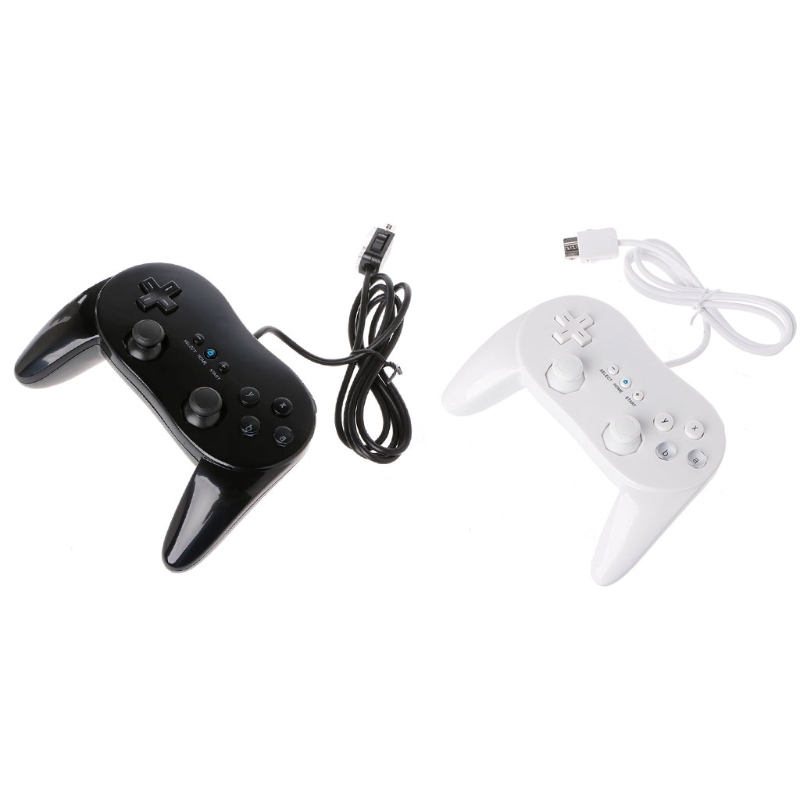 OOTDTY Classic Wired Game Controller Gaming Remote Pro Gamepad Control For Nintendo Wii