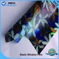 Extraíble estática ventana se aferran pvc decorativo película de la ventana de plástico 92 cm windth 5 m longitud BZ121-R029-B001