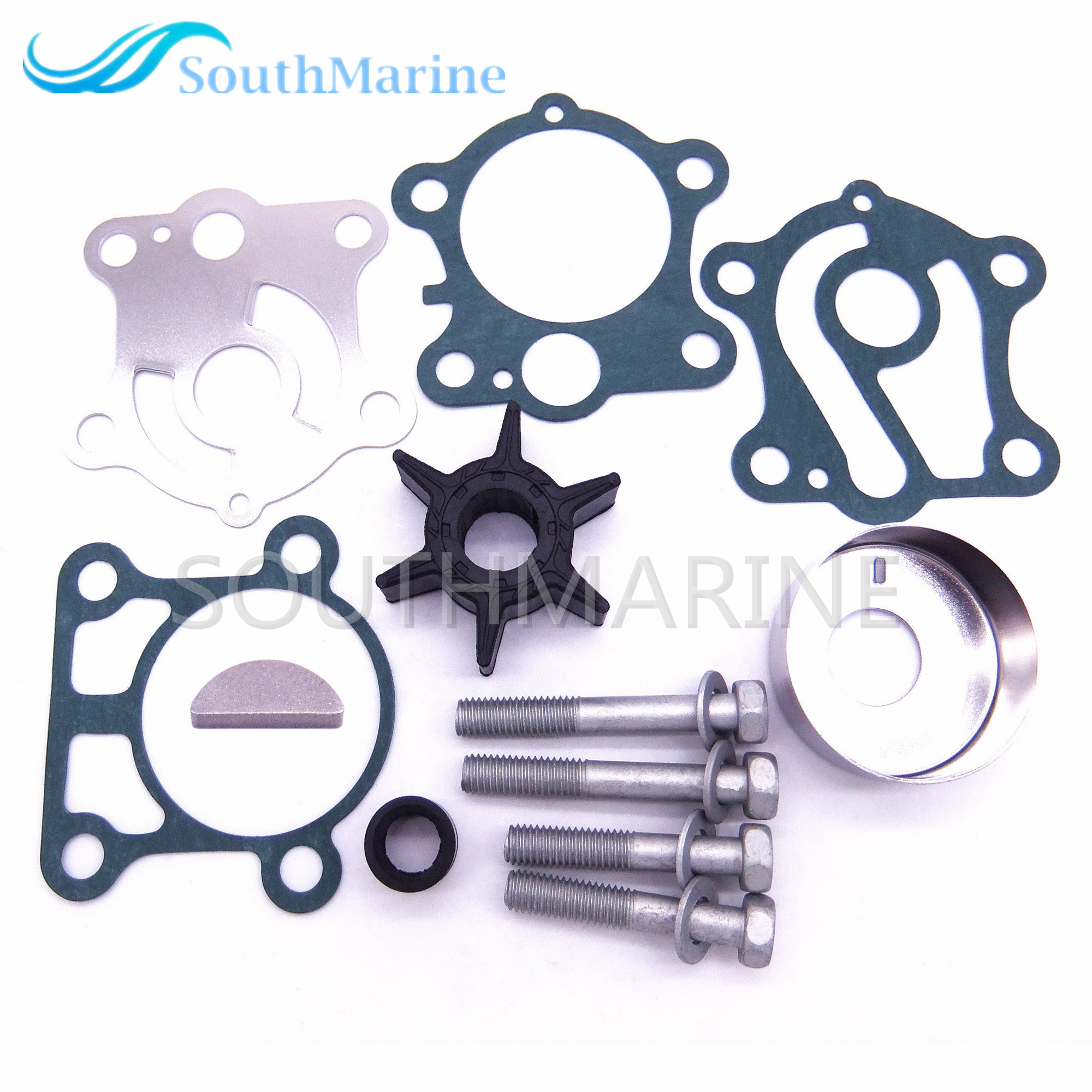 6H4-W0078 6H4-W0078-00 Water Pump Kit For Yamaha 40HP 50HP Boat Outboard Motors