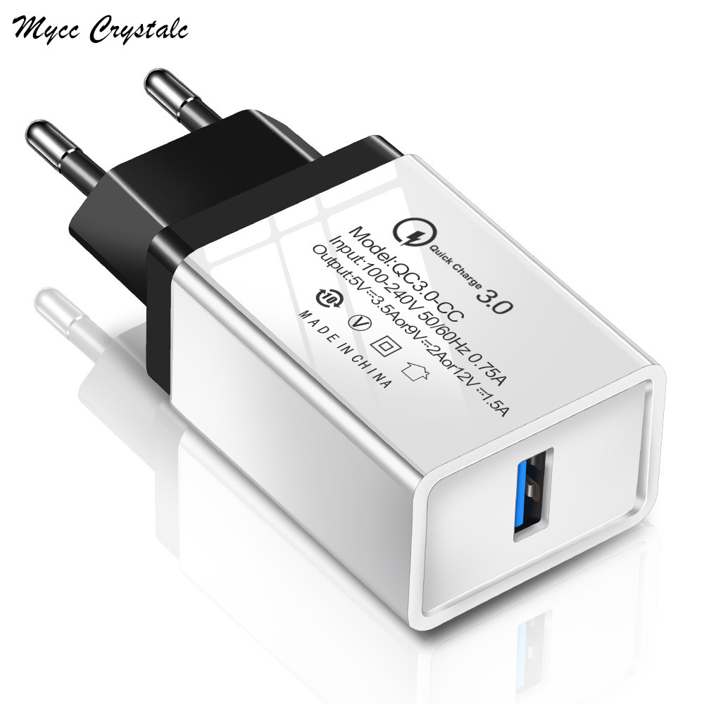 Quick Charge 3.0 Fast USB Charger For Oukitel K12 K9 K10 K8 K6 K7 Power C16 C15 C13 C12 C11 C10 Pro WP1 WP2 QC 3.0 Phone Charger(China)