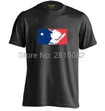 The Peanuts Baseball League Mens & Womens casual round neck T shirt