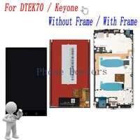 4.5 ''フル Lcd ディスプレイ + タッチスクリーンデジタイザ国会ブラックベリー DTEK70/KEYone BBB100-1 BBB100-2 BBB100-5; 100% テスト