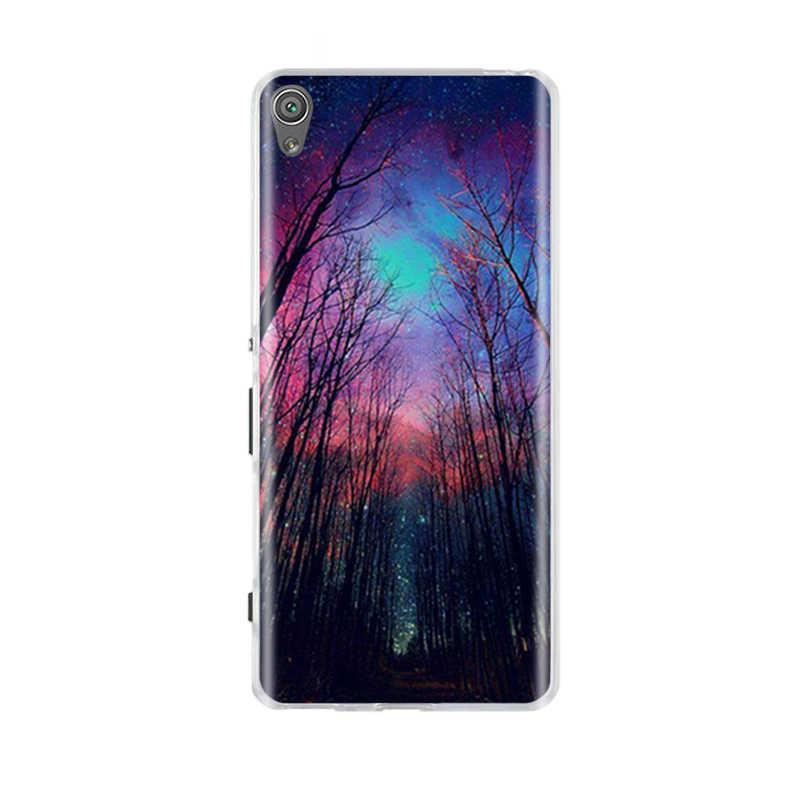 עבור Sony Xperia XA/XA1 בתוספת/XA1 Ultra Case כיסוי רך סיליקון TPU שקיות 3D חמוד מעטפת עבור sony XA F3111 F3112 מקרי טלפון