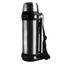 2500ML Travel Vacuum Flask Inox Thermos Portable Outdoor Mountaineering Cup Drink Heater Water Tea Coffee Hot 2018