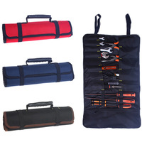 2017 NEW Multifunctional Oxford Canvas Chisel Roll Rolling Repairing Tool Utility Bag Practical With Carrying Handles