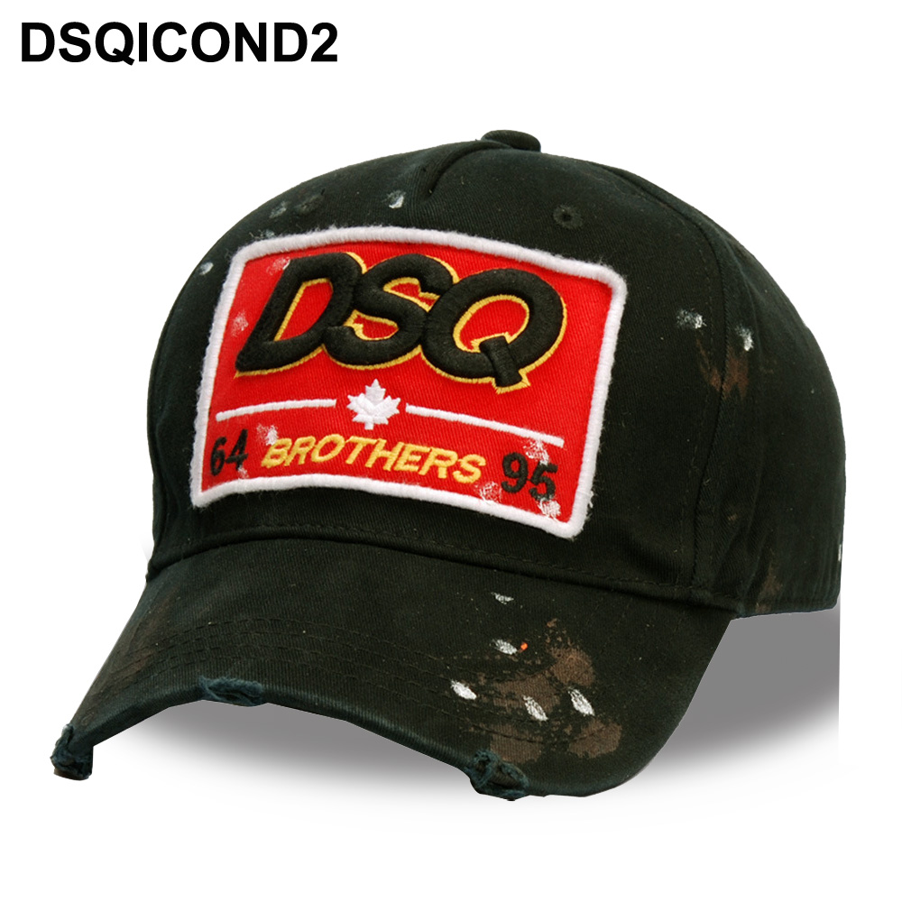 ... High Quality Cap Men Women Customer Design DSQ Logo Hat Black Cap Dad  Hats-in Baseball Caps from Apparel Accessories on Aliexpress.com   Alibaba  Group d006b3f9599