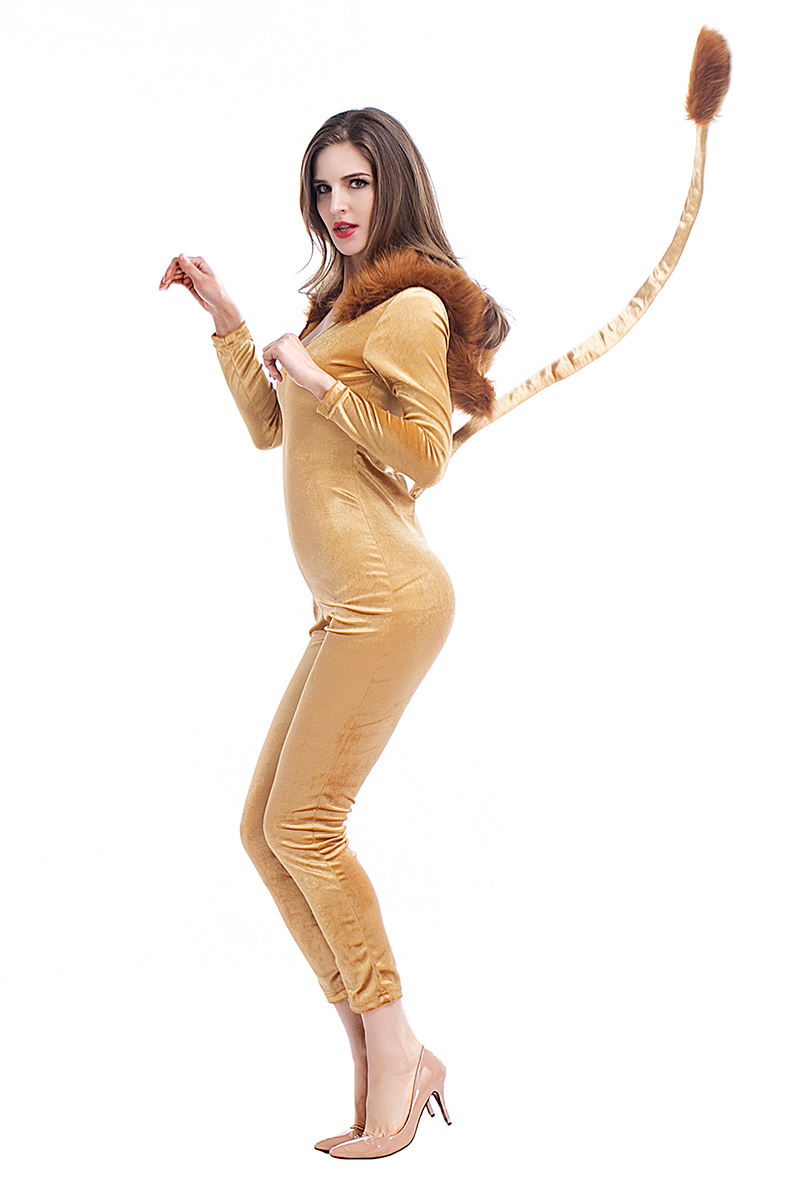 Popular Deluxe Lion Costume-Buy Cheap Deluxe Lion Costume lots ...