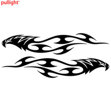 Eagle Flames Tribal Car Sticker Personalized Motorcycle Waterproof Stickers Styling Accessories