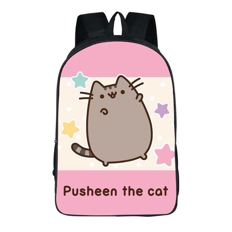 Lovely Pusheen Cat Backpack