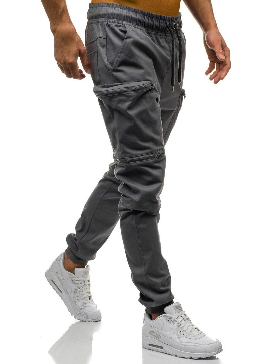 HTB1zRYiL7zoK1RjSZFlq6yi4VXaM Mens Joggers 2019 New Red Camouflage Multi-Pockets Cargo Pants Men Cotton Harem Pants Hip Hop Trousers Streetwear XXXL