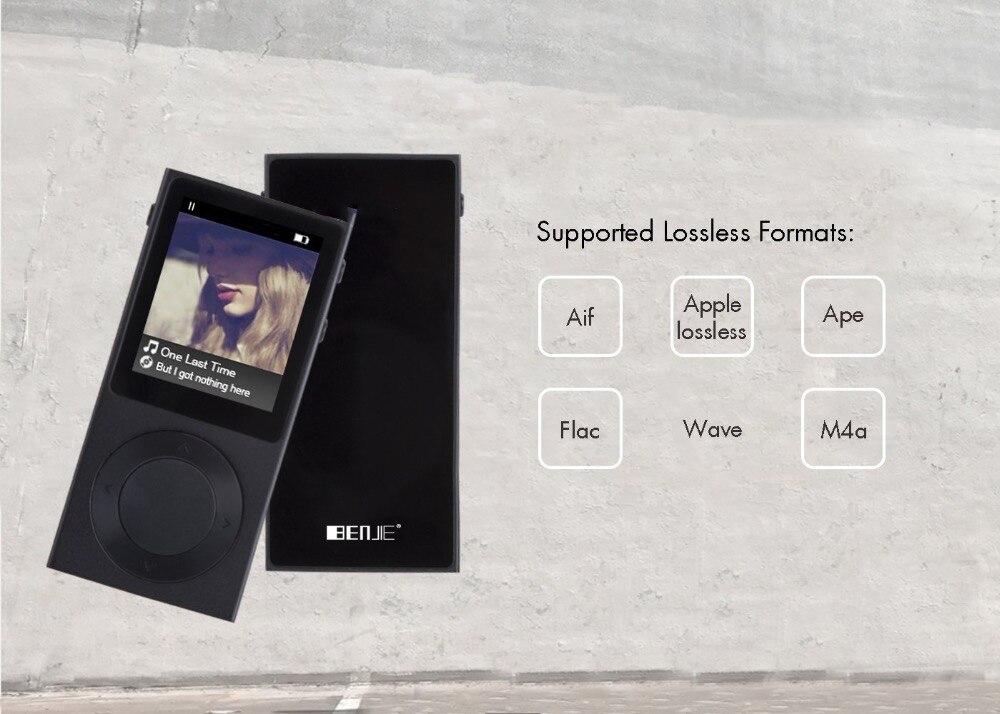 ორიგინალი BENJIE Bluetooth MP3 Player - პორტატული აუდიო და ვიდეო - ფოტო 6