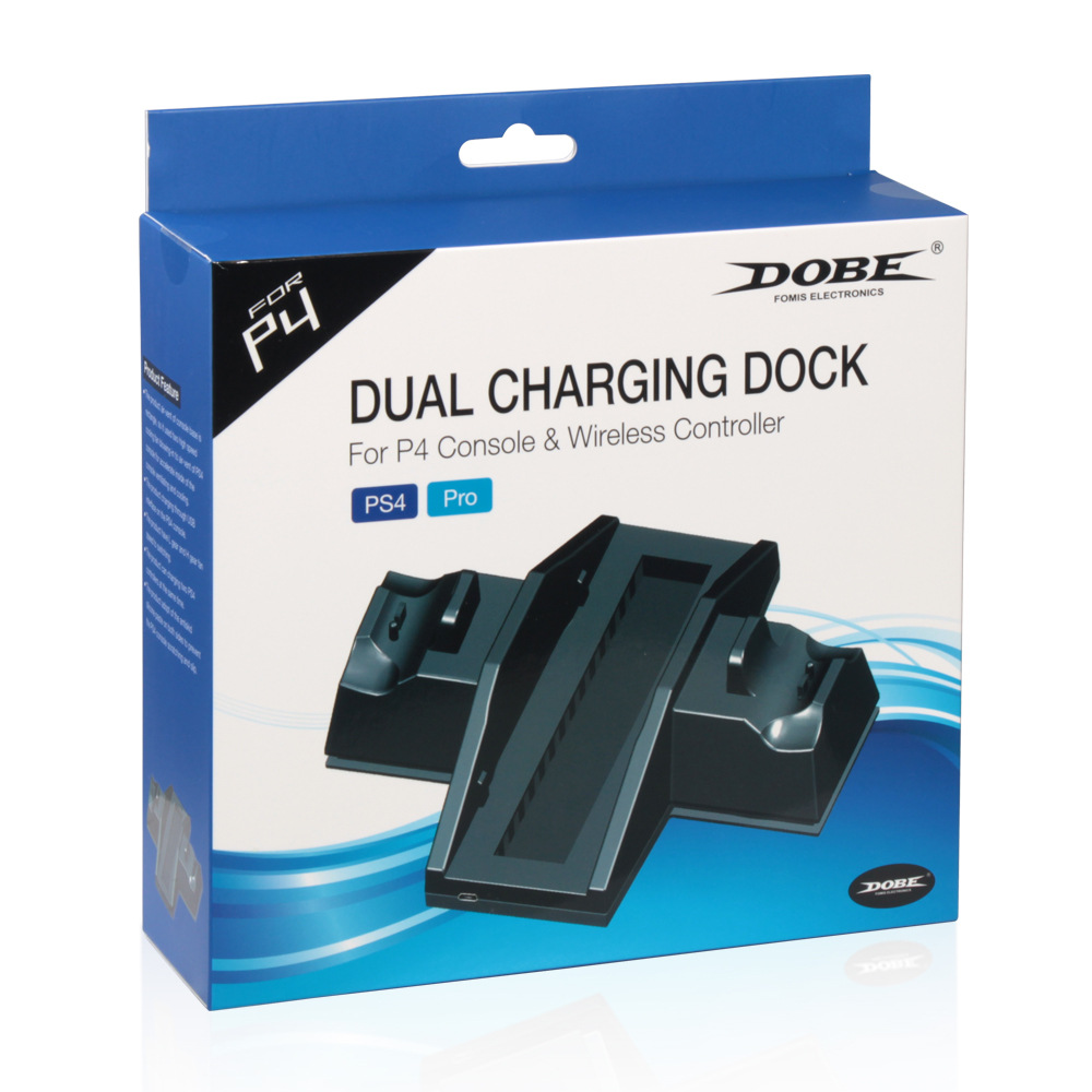 Image 5 - Controller Cooling Charging Station Charger stand with USB HUB for and Game Discs Storage Rack for PS4 / PlayStation 4 Console-in Replacement Parts & Accessories from Consumer Electronics