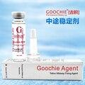 2 Pacote Goochie Tatuagem Agente de Fixação de Midway Assistência Eficaz Bloquear a Cor 10 g/pçs Tatuagem Maquiagem Permanente