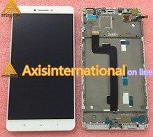 """Original Probado pantalla LCD display + touch Digitalizador con marco para 6.44 """"xiaomi mi max pro mi max color blanco envío gratis"""
