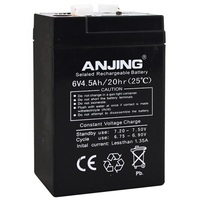 В 6 в 4.5 Ач батарея 6v4. 5ач 4Ач для детей электрическая игрушечная машина детская переносups резервная настольная лампа свинцово-кислотная перезаряжаемый аккумулятор
