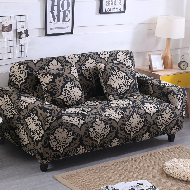 Brand New Geometric Stretch Sofa Cover Universal Elastic ...