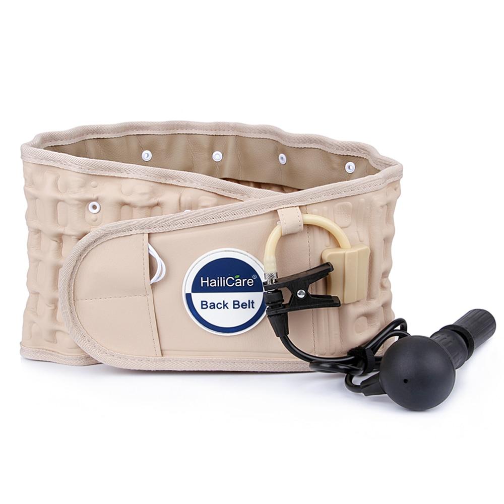 HailiCare Back Relief Belt Waist Brace Support Belt Lumbar traction backach Waist Brace Pain Release Health