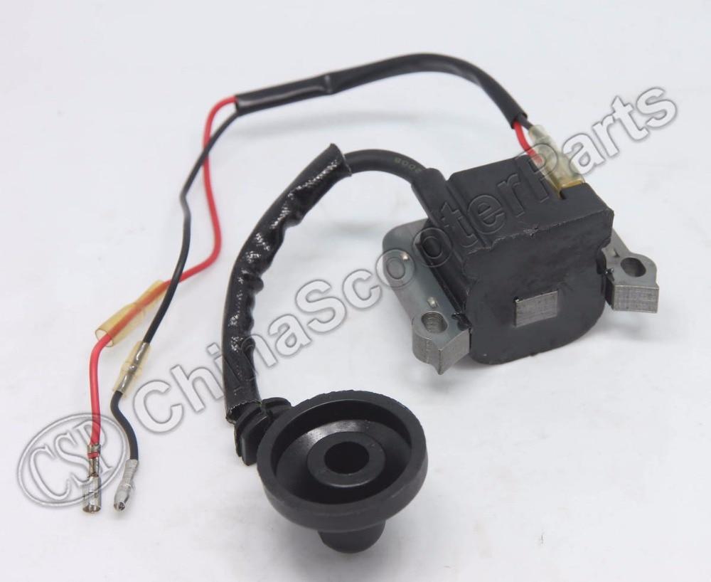 ignition coils 43cc 49cc mini moto gas scooter chopper. Black Bedroom Furniture Sets. Home Design Ideas