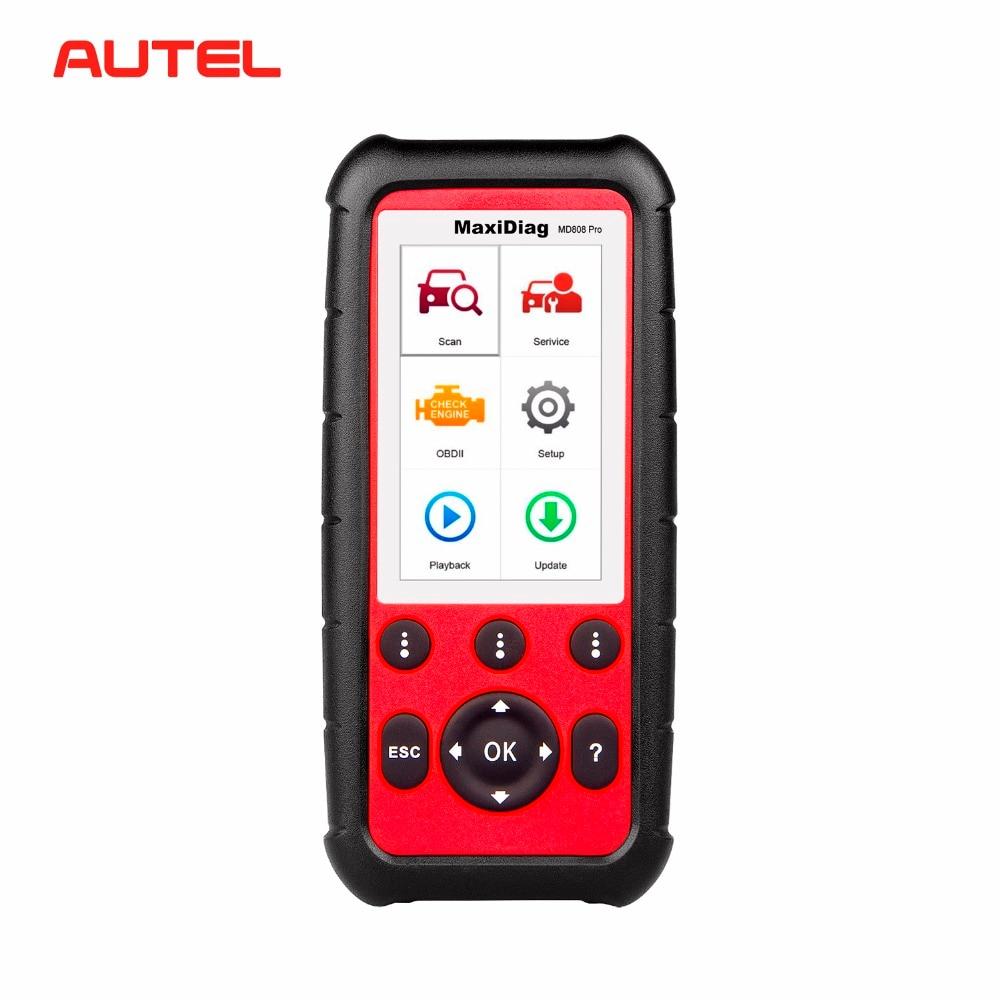 Autel MD808 Pro OBDII Auto Outil De Diagnostic OBD2 Code Lecteur Scanner ABS SRS EPB BMS Code Reader Meilleur MD802 MD805