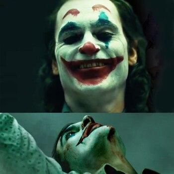 Newest Joker Mask Movie Joker 2019 Costume Accessory Joaquin Phoenix Masks Halloween Helmet Party Props the strangers prey at night mask kinsey masque movie cosplay helmet masks halloween costume party props