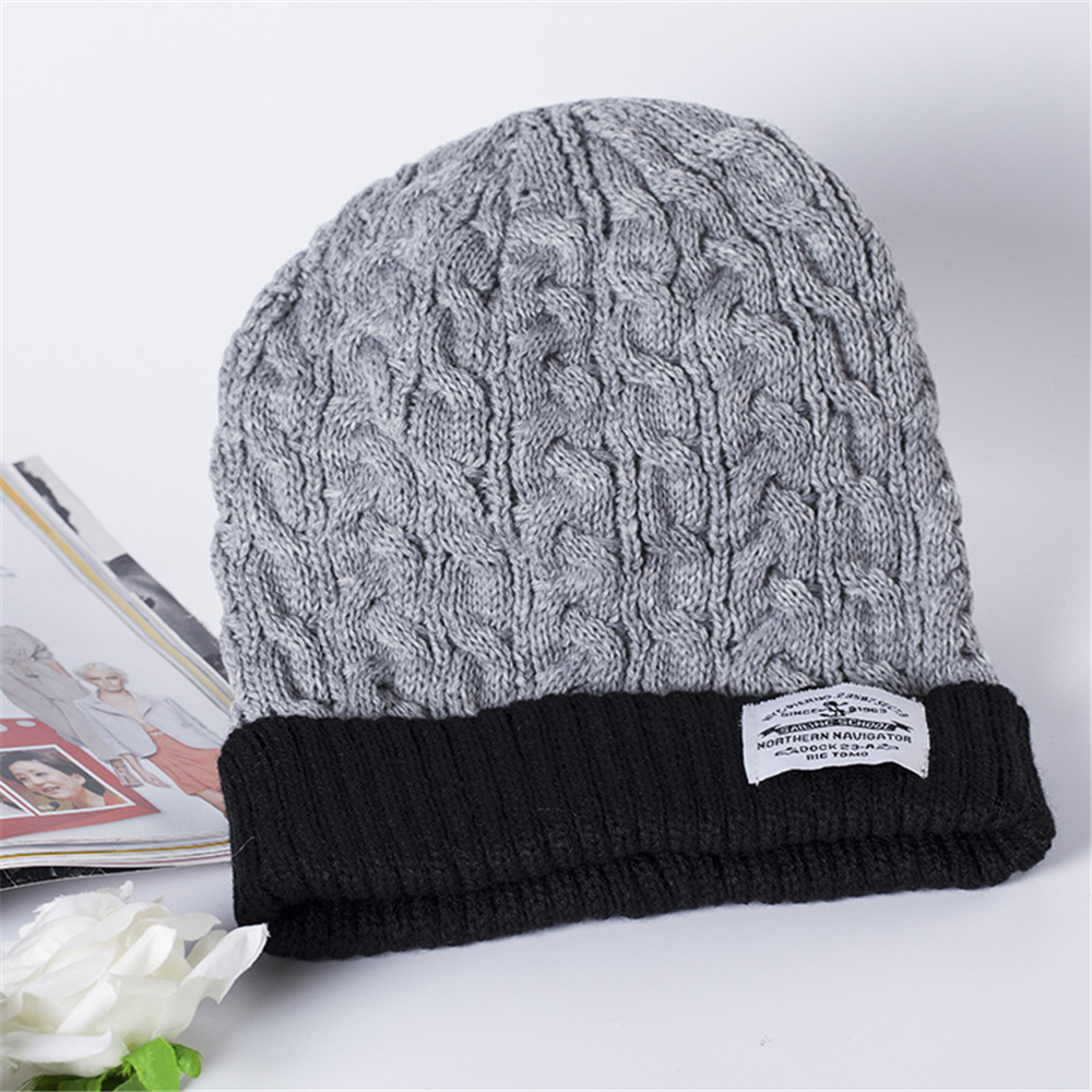 Man And Woman 2016 New Fashion Warm Knitted Hat Korean Style Winter Skullies&Beanies Cap For Women Winter Hats