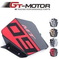 GT Motor Motorbike Windshield Wind screen For Yamaha MT09 MT 09 FZ 09 2014 2015 2016 2017 Aluminum