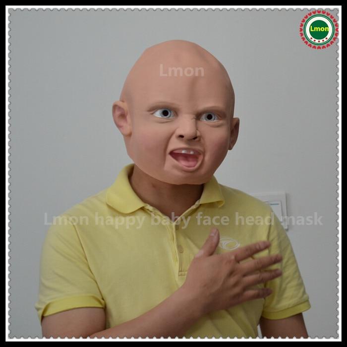 3 Vrste Novi Latex zgražen Sretan Cry Baby Kostim rođendan - Za blagdane i zabave - Foto 4