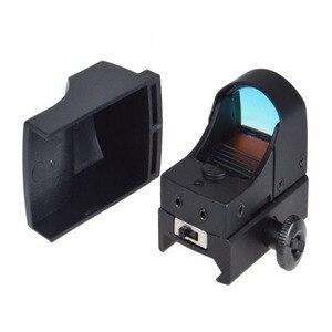 Image 5 - GUGULUZA Red Dot Sight Scope Tactical Mini Compact Holographic Adjustable Brightness Micro Reflex Red Dot Light Rifle Pistol