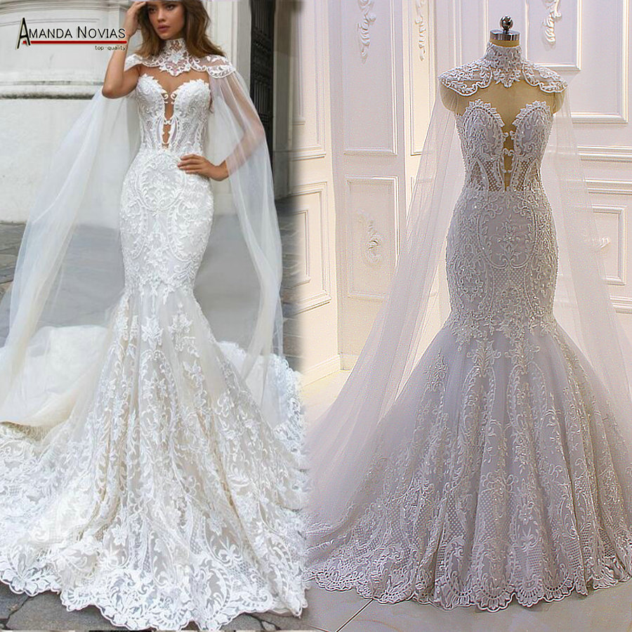 2020 New Design Mermaid Wedding Dress