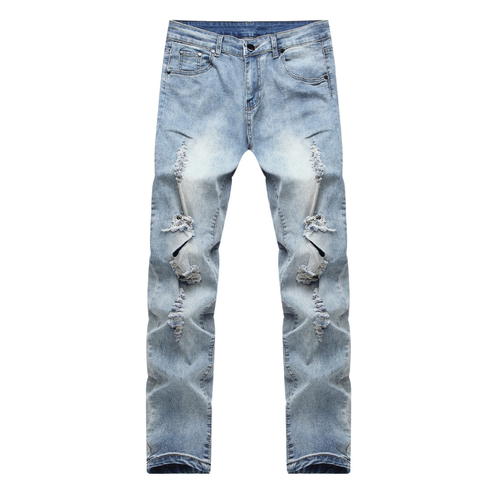 Online Get Cheap Destroyed Skinny Jeans Man -Aliexpress.com ...