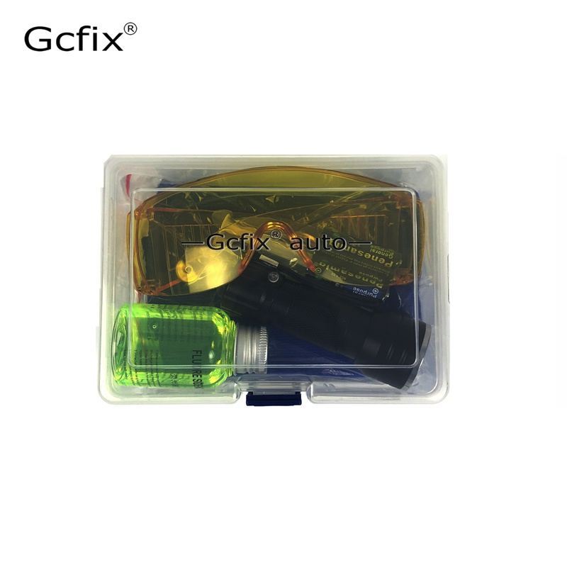 Image 3 - Automobile Fluorescent Leak Detection Tool Auto Air Conditioning R134a Refrigerant Gas A/C Leak Test Detector Repair Kit UV Dye-in Air-conditioning Installation from Automobiles & Motorcycles