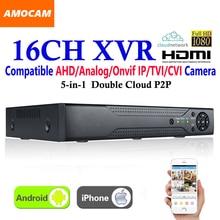 New CCTV 16Channel XVR Video Recorder All HD 1080P 5 in 1 16 CH Super DVR