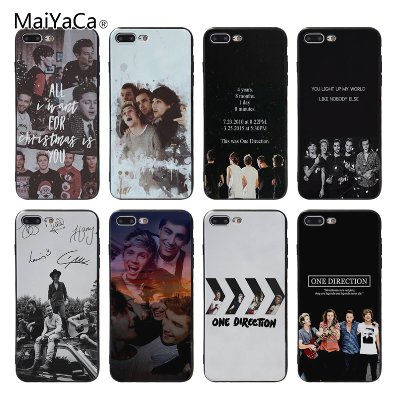 MaiYaCa One Direction luxury cell phone cases For Apple ipho