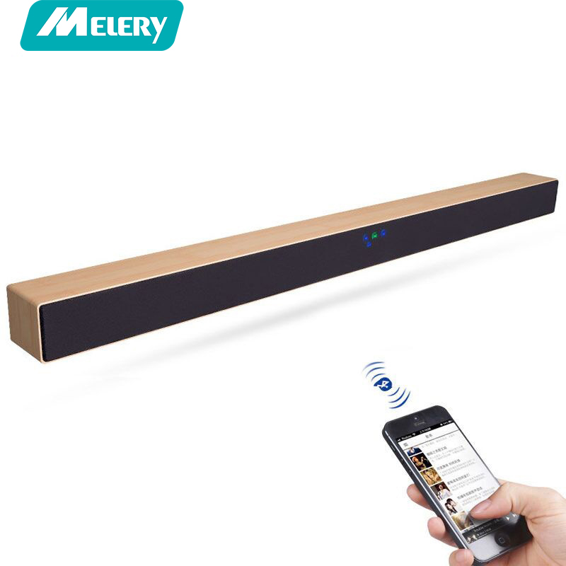 Melery TV Barre De Son Home Cinéma Système de Son Surround Audio A1 Sans Fil Bluetooth HD Basse Stéréo Haut-parleurs 60 w Pour TV à La Maison