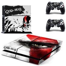 God of War Vinly Skin Sticker for PlayStation 4 PS4 + 2 Controller Skins