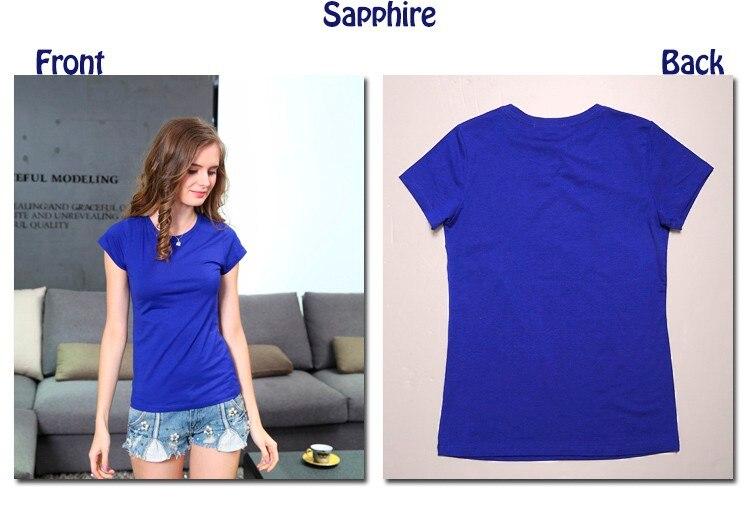 HTB1zRbdLXXXXXb5aXXXq6xXFXXXK - High Quality Plain T Shirt Women Cotton Elastic Basic T-shirts